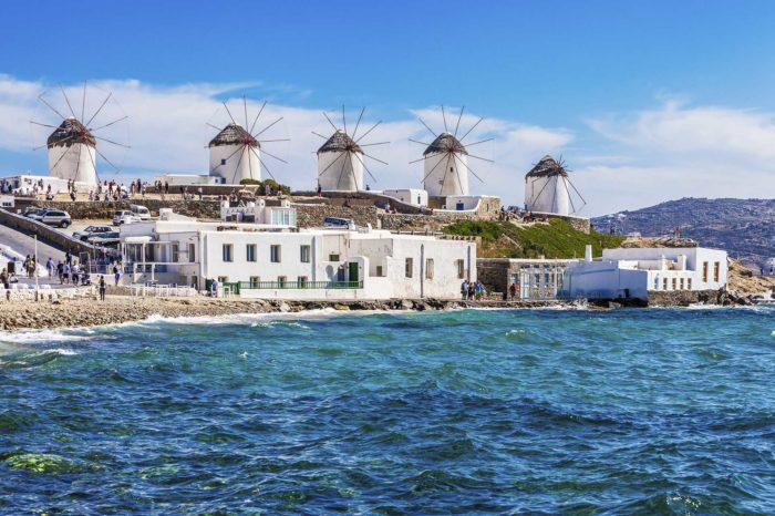 Paros Mykonos Santorini (8Nights/9Days)