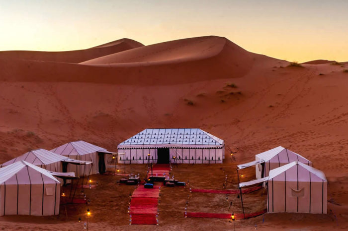 Luxury Camping at Sahara Desert - Morocco