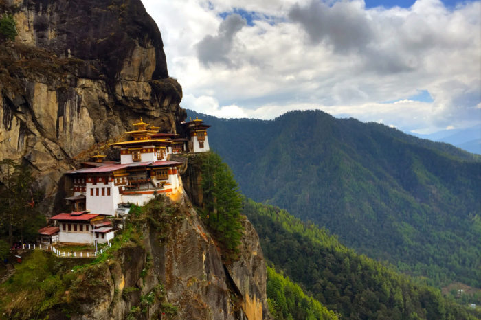 Trekking To The Tiger's Nest Bhutan